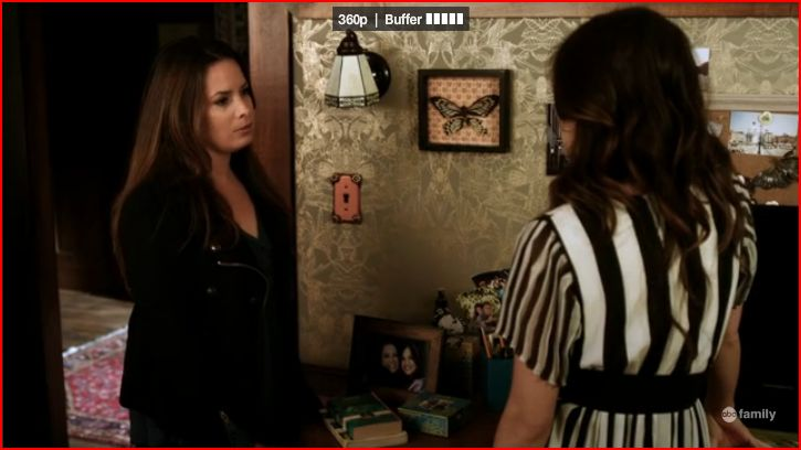 At the Montgomery s Ella stops by Aria s room to ask how Toby is doing she  heard that he was in the hospital as she stood outside Aria s door earlier  being. PLL S02 Episode 17 Recap Be Bold and Mighty Forces will come to
